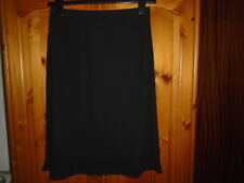 Black skirt with silk band around hem, Designer PEARCE FIONDA, Size 10-12, NEW
