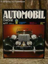 Automobil & Motorrad Chronik 6/77 MG TC AJS Story