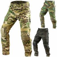 Viper GEN2 Men's Elite Combat Cargo Airsoft Tactical Trousers Pants w/ Knee Pads
