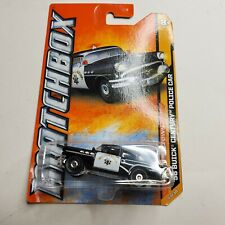 2012 Matchbox '56 BUICK CENTURY POLICE CAR MBX Old Town