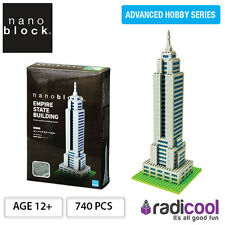 NBM004 Nanoblock Empire State Building Deluxe [Advanced Hobby Series] 740pcs Age