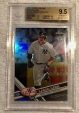 2017 Aaron Judge Topps Chrome Rookie Refractor Variation - BGS 9.5