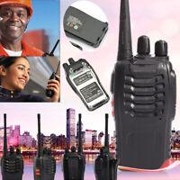 BaoFeng Walkie Talkie BF 888S 2 Two Way Radio UHF 400-470MHZ 16CH Ham EU Plug
