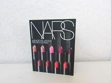 Nars Audacious Rouge À Lèvres Échantillon Carte avec 8 Teintes