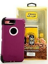 New Open Box Authentic Otterbox Defender for iPhone 7/8 - purple