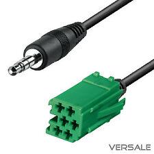 AUX Kabel MINI ISO für RENAULT Carminat Megane Clio Laguna Auto Radio Adapter