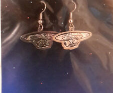 Vintage Star Trek Next Gen Enterprise Hologram Earrings- Die Cut (STJW-AH-03)