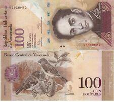L042 BILLETE VENEZUELA 100 BOLIVARES 2012 SC