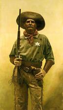 """The Deputy"" Don Stivers Artist Proof Giclee Print"