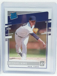 Michael King 2020 Donruss Optic Baseball - #81 RC - New York NY Yankees