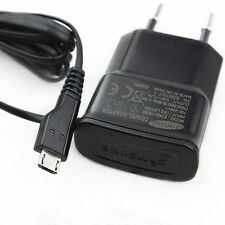 ORIGINAL SAMSUNG CHARGEUR SECTEUR PRISE DE COURANT MURALE CABLE CORDON MICRO USB