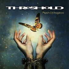 March of Progress by Threshold CD 2012 Nuclear Blast 2342-2 Prog Rock Heavy Meta