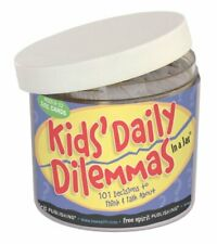 Kids Daily Dilemmas Cards in a Jar: 101 Decisions to Think & Talk about