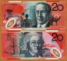 Australia, $20, 2005, Polymer, P-59c, UNC > Airplane, Boat