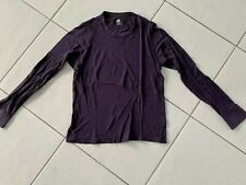 Nike Sportswear Herren T-Shirt Langarm Longsleeve Gr. M lila