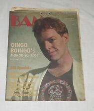 BAM The California Music Magazine 2 Oct 1983 No 166 Oingo Boingo's Mondo Schizo