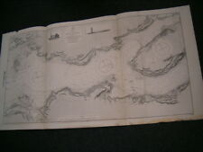 Vintage Admiralty Chart 1548 IRELAND - THE SHANNON - Sheet 3 - 1913 edition