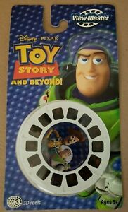 View-Master Disney TOY STORY 2 3D Collectible Reels Buzz Lightyear Woody NOS