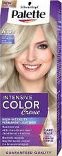 Schwarzkopf Palette Color Creme A10 Ash Blonde Hair Dye Platinum Silver + Mask