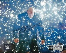 WWE BILL GOLDBERG SIGNED 8X10 PHOTO WRESTLEMANIA EXCLUSIVE #22 OF 33 SOLD OUT