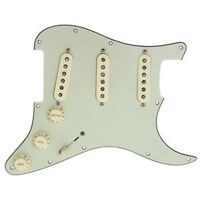 Fender Pure Vintage 65 Loaded Strat Pickguard Aged Cream / Mint 7 Way OrAnyColor