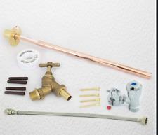 OUTDOOR GARDEN DIY TAP KIT SELF CUT DIY Fit Brass