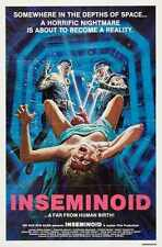 Inseminoid Poster 03 A2 Box Canvas PrInt