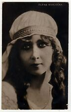VINTAGE THEATRE RPPC Real Photo Postcard ELENA MAKOSCKA Helena Makowska PLAY