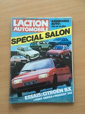 L'ACTION AUTOMOBILE N°260 10/1982 SPECIAL SALON   E19