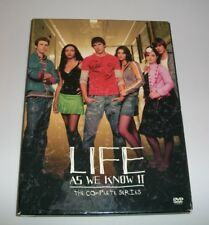 Life As We Know It (DVD, 2005) T.V. Show Complete series Box set 2005 pre-owned