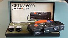 Retro Agfa  Optima 6000 Pocket sensor 110 film pocket camera focus free