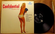 MONO COMEDY LOUNGE LP: CONFIDENTIAL SUNG BY ANGELINA Davis JD-112 CHEESECAKE