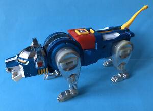 Vintage 1981 Voltron Lion Force Diecast Blue lion Y&K Toy Japan TOEI Popy 1980s