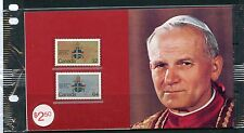 Weeda Canada Thematic Collection #27, 1984 Pope's Papal Visit folder CV $5