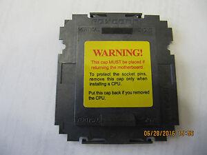 NEW LOT 200 pcs Foxconn Intel LGA1366 CPU Socket Protector Cover , ORIGINAL PART