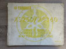 Yamaha Wartungsanleitung XS250 XS360 ´77 service manual manuel D´Atelier