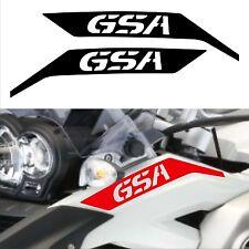 2 Adesivi Fianco Moto BMW R 1200 gs adventure GSA becco parafango