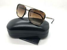 New Coach sunglasses HC7089 931874 58 Dark Tortoise Brown Gradient Chain 7089
