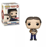 Funko Pop TV : Stranger Things #847 - Eleven With Teddy Bear (Target Exclusive)