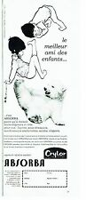 Publicité Advertising  0817  1962  layette bébé Absorba Crylor  sous vetements