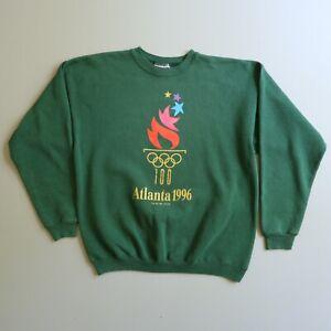 Vintage ATLANTA 1996 Olympics Crewneck Sweatshirt Pullover