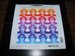 JOHN LENNON Beatles - Forever US Stamp Sheet!!  NEW!  (16 Stamps)