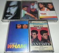 Lot x 5 WHAM! George Michael Cassette Philippines Korea '86 Older Fantastic