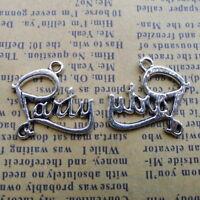 5pcs Gas Mask Alloy Beads Charms Tibetan Silver Pendant DIY Bracelet 28*27mm