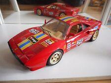 Bburago Burago Ferrari GTO 1984 #25 in Red on 1:18