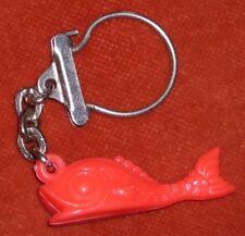 Porte-clé Keychain Poisson Goujon style dauphin esprit 18 19° siècle