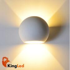 KingLed® Applique Gesso Ceramico 8415 Ovale Up&Down plug G9 220V Decorabile 2140