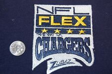 "San Diego Chargers 3 1/8"" NFL Flex Patch Football"