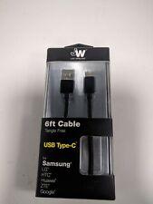 Cargador De Cable USB Tipo C Para  Sonim XP5S & XP8, CAT S48c, T-mobile Revvl 2