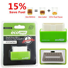 US Green OBD2 Performance Tuning Chip Box Saver Gas/Petrol Vehicles Plug & Drive